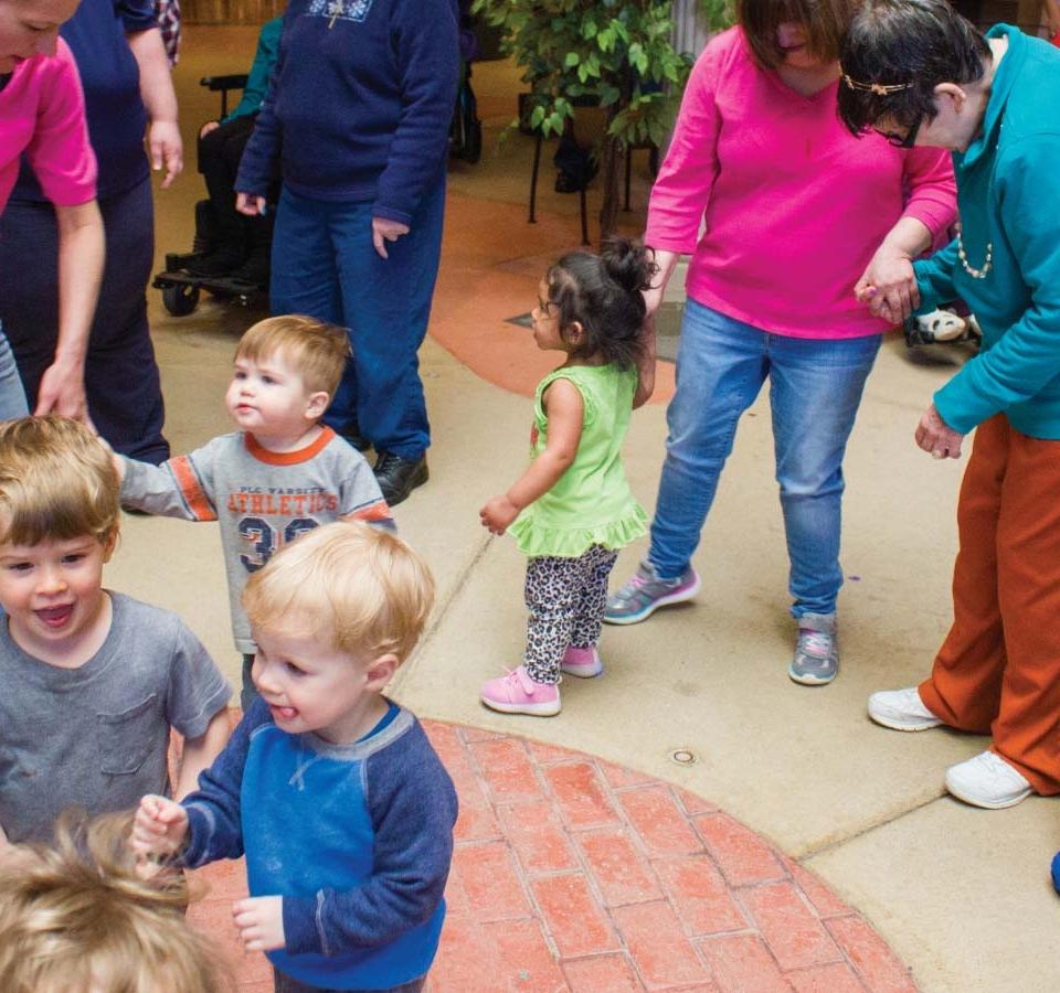 children intergenerational dance milwaukee
