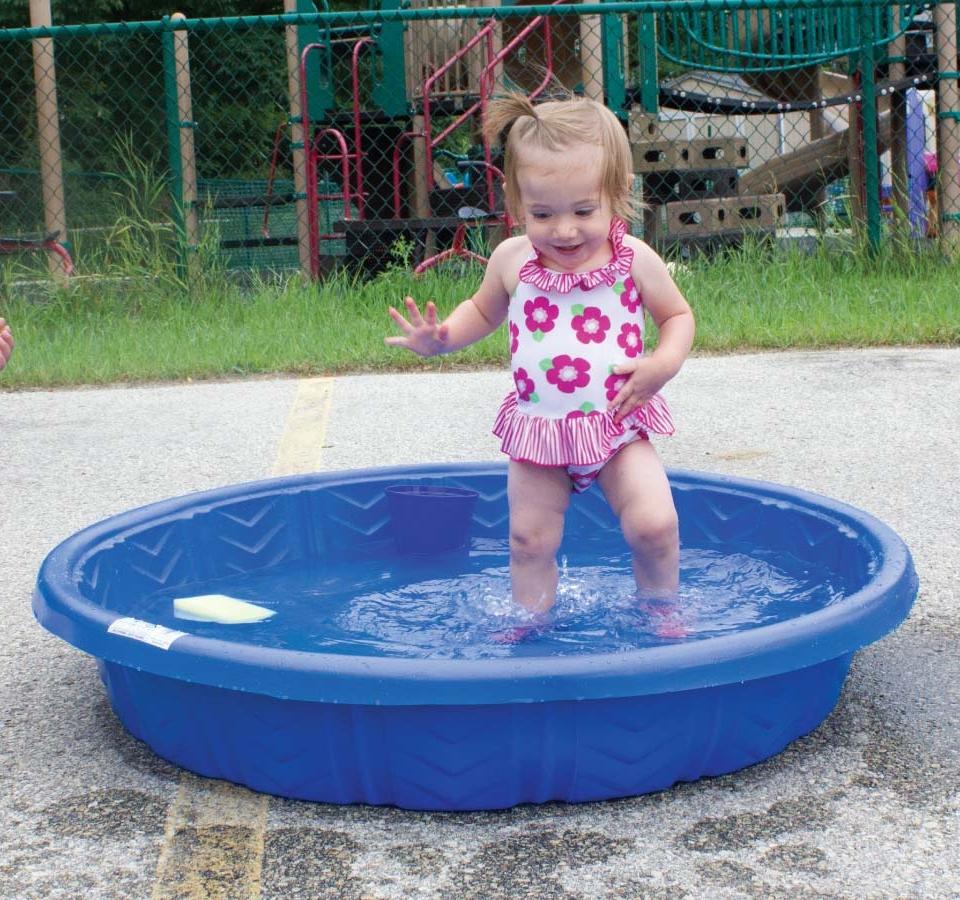 infant pool splish splash party