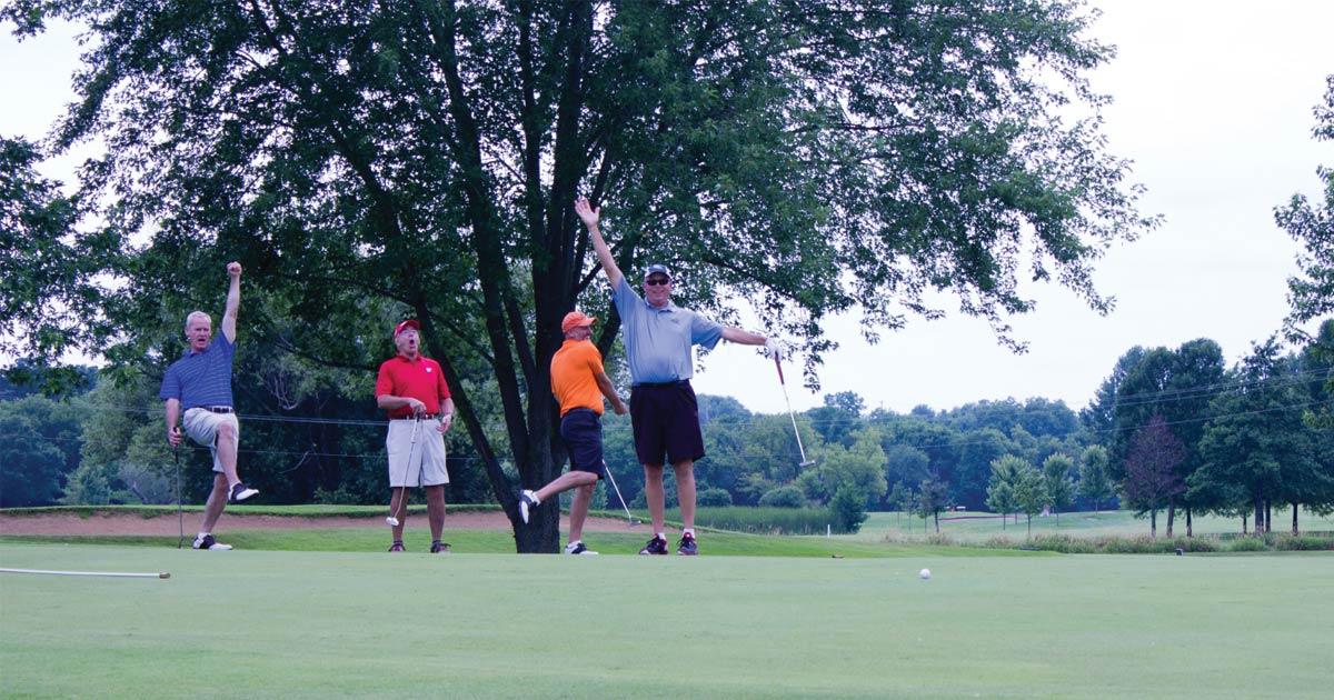 stu golf outing fundariser